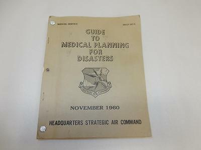 """1960 Vintage US AIR FORCE """"Guide Medical Planning Disasters-Nuclear """"Cold War"""""""