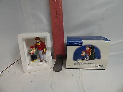 Department 56 , Snow Village Figure - First Deposit , Number 56.55023