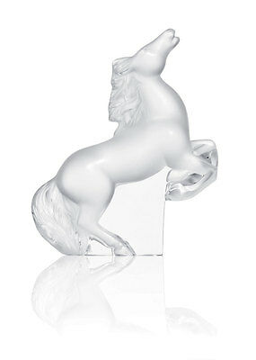 Lalique Rearing Kazak Horse Brand New In Box French Clear Crystal #1206500 F/sh