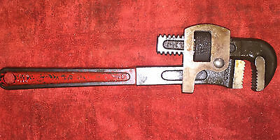 """Vintage tools Proto 814 14""""  Pipe Wrench - In good shape"""