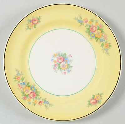 American Limoges TROUBADOUR YELLOW Bread & Butter Plate 1246748