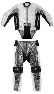 Alpinestars Racing Rain Two Piece Over Motorcycle Suit Clear/Black 3XL/XXX-Large