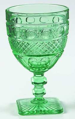 Imperial Glass Ohio TRADITION SEAFOAM GREEN Water Goblet 8252308
