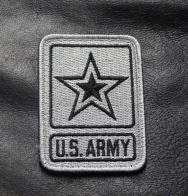 Usa Army  Star Logo Tactical Milspec 3 Inch Army Acu Hook Patch