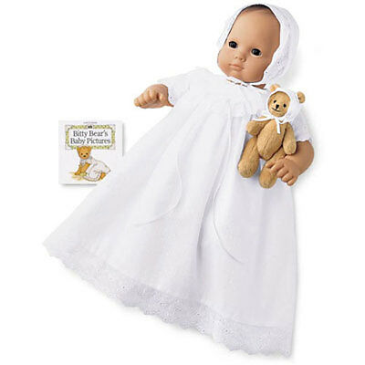 American Girl Bitty Baby * SPECIAL OCCASION SET Christening Gown * NIB/MINT