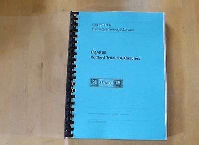 Bedford.Truck and coaches.Brake manual. TS1087