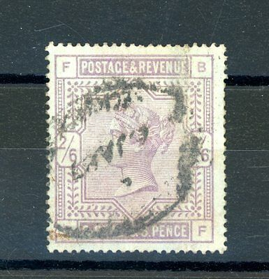 Great Britain 1883  2s 6d   (SG 175)  Blued Paper.   fine used (J245)