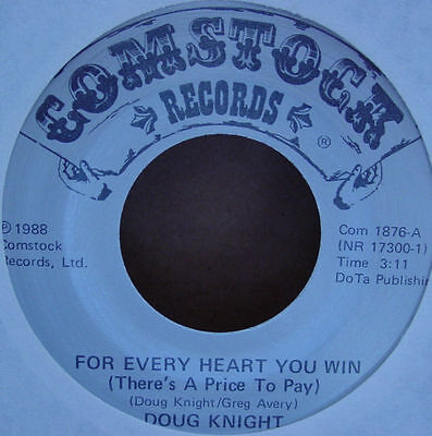 """Doug Knight - For Every Heart You Win 7"""""""