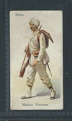 Bat British American Tobacco Soldiers Of World Leaf Back India Madras Pioneers