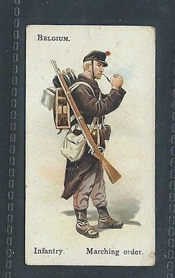 Bat British American Tobacco Soldiers Of World Leaf Back Belgium Infantry