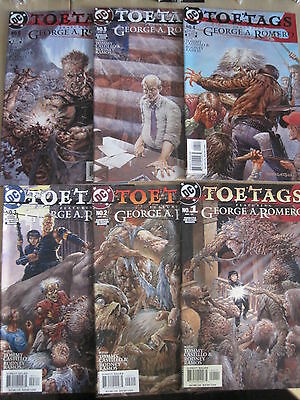 TOE TAGS : COMPLETE 6 ISSUE SERIES by GEORGE A. ROMERO. MATURE READERS. DC.2004