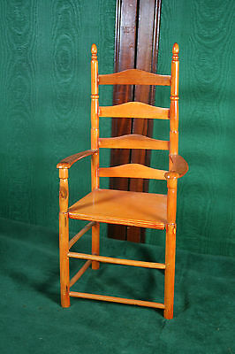 Vintage Ladder Back Chair for Doll 1960s