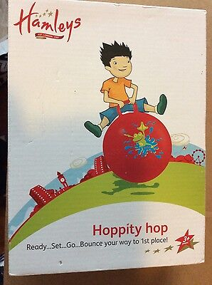 Hamleys Hoppity Hop  Ball Bounce  Activity Outdoor Toy 137cm / (54 inch) 3+