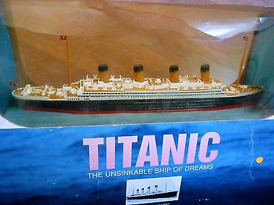 "BARCO TITANIC THE UNSINKABLE SHIP SCALE 1/1136"" 1998 claytown Collection"