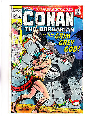 "Conan No.3  : 1971 :   : ""The Grim Grey God!"" :"