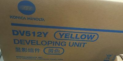 KONICA MINOLTA OEM DV512Y Yellow DEVELOPING UNIT