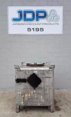Stainless Steel Tote 350 gallon sku T35