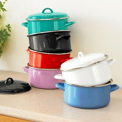Judge Induction Non Stick Casserole Coloured Stove Top or Oven 4 litres 22cm