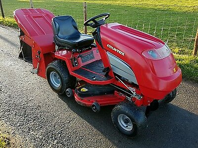 Countax C30h ride on lawn tractor and Powered Sweeper