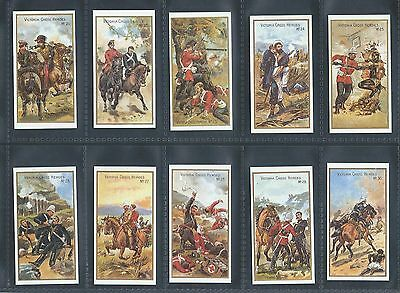 Taddy Victoria Cross Heroes Vc 21 - 40  Full Set Mint Reproduction