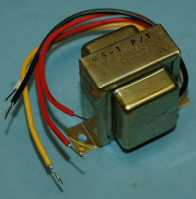 Bourns 30v Center-tapped Shielded Audio Power Transformer 15v-0-15v NOS 4:1