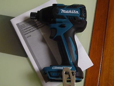 New Makita XDT08 18V Lithium-Ion Cordless Brushless Impact Driver BL use BL1830