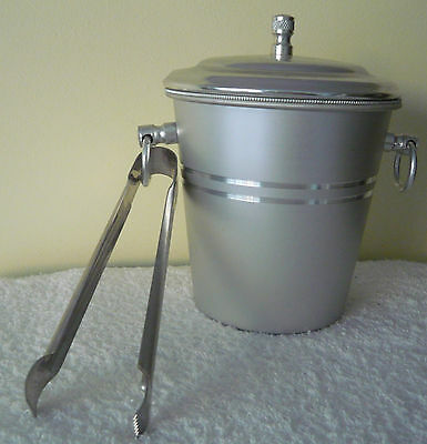 Le FLANDRE - BEAUTIFUL NEW ICE BUCKET AND TONGS