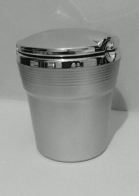 Audi A1/s1 - Silver Ashtray Or Coin Holder To Suit Cup Holder