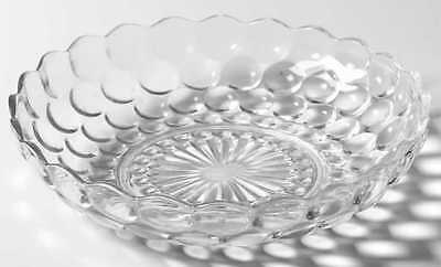 """Anchor Hocking BUBBLE CLEAR 8 3/8"""" Round Bowl 3934840"""