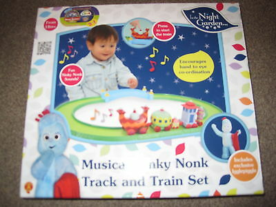 In The Night Garden Musical Ninky Nonk Track And Train Set - New In Box!