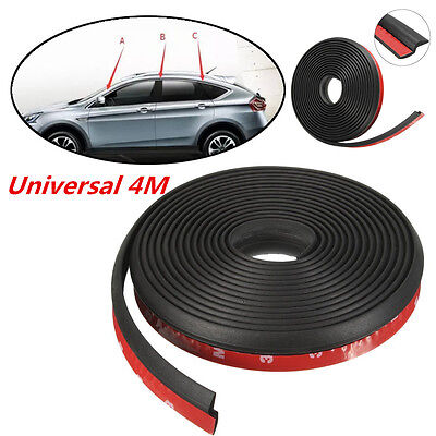 Universal 4M Car Exterior Door Window Seal Strip Weather Rubber Strip Moulding
