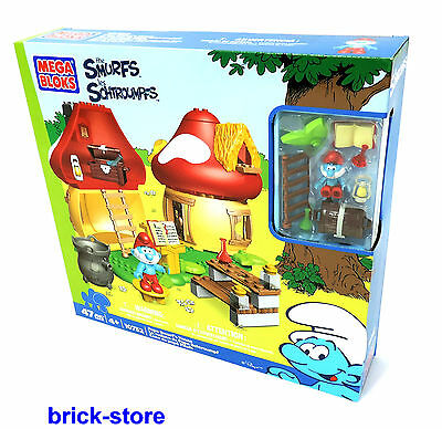 MEGA BLOCKS SET 10752 / The Smurfs Papas Smurf's House /Smurf's House