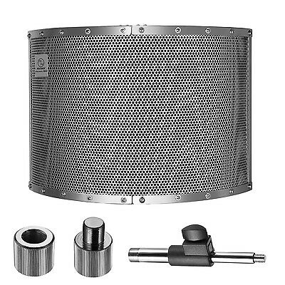 Neewer Microphone Acoustic Isolation Shield Absorber Filter Vocal Wind Screen