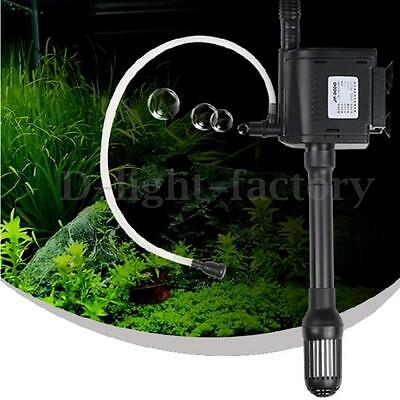 350/600/1000/1200/1600L Submersible Aquarium Fountain Pond Water Pump Fish Tank
