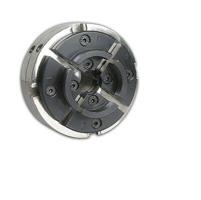 Utility Grip 4 Jaw Chrome Lathe Chuck System: includes 2 sets of jaws