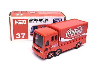 JAPAN TOMY TOMICA No.37 COCA COLA EVENT CAR 1/68 DIECAST DELIVERY TRUCK