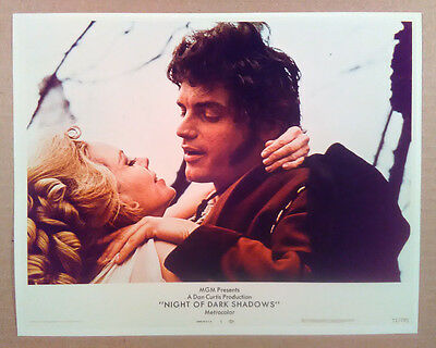 8x10 Photo~ NIGHT OF DARK SHADOWS ~Lara Parker ~David Selby ~Witch ~Horror