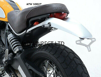 R&G TAIL TIDY  Ducati Scrambler Icon (2015) (Brushed Stainless Steel) LP0187SS