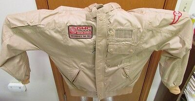 Vintage Racing Jacket 1983 GMC Motor Sports Indy 500 Official Pace Truck Size M