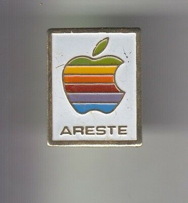 Rare Pins Pin's .. Informatique Pc Ordinateur Computer Apple Mac Areste ~C2