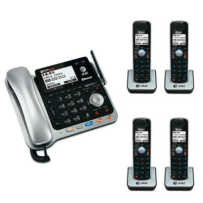 AT&T TL86109 DECT 6.0 2-line Bluetooth Cord/Cordless Phone Kit