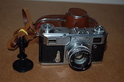Kiev-4A (Type II) Vintage 1964 Soviet Rangefinder Camera. Serviced. No.6413905