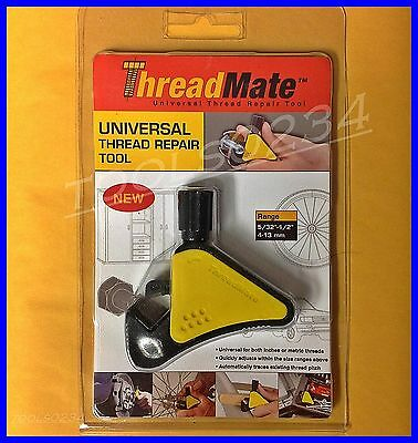 NES 06040 5/32 - 1/2 ThreadMate External Thread Repair Tool UNIVERSAL SAE METRIC