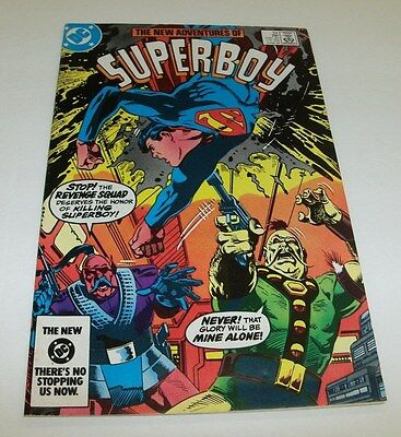 The New Adventures of Superboy #54 Original Owner Collection $5 High Grade Comic