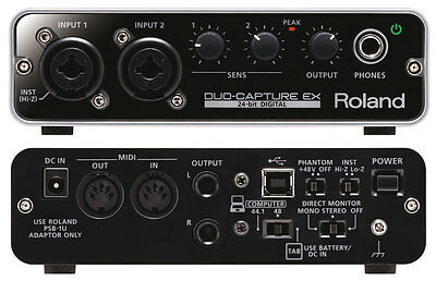 ROLAND UA-22 Duo-Capture EX USB Audio-Interface