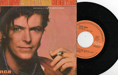 "DAVID BOWIE - Wild Is The Wind / Golden Years, SG 7"" SPAIN 1981"