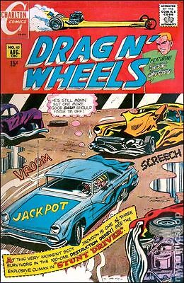 Drag N Wheels (1968) #42 FN