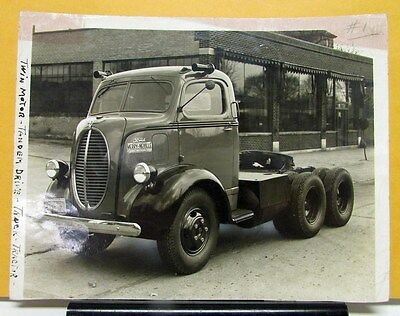 1938 1939 Ford Truck V8 COE Photos with Merry Neville Brochure