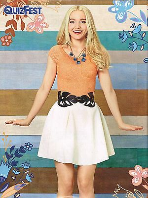 "DOVE CAMERON white skirt - 11"" x 8"" MAGAZINE PINUP - POSTER - TEEN GIRL ACTOR"