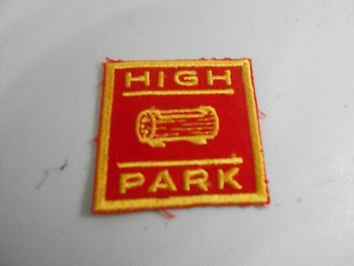 (Py4-J)  High Park  Ontario H6A  Canadian Scout Badges